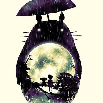 Totoro by nicebleed