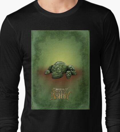The Journal of Angela Ashby - Malachite Skulls T-Shirt