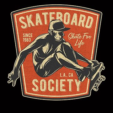 American Style Skateboarders Gifts and Apparel by manbird