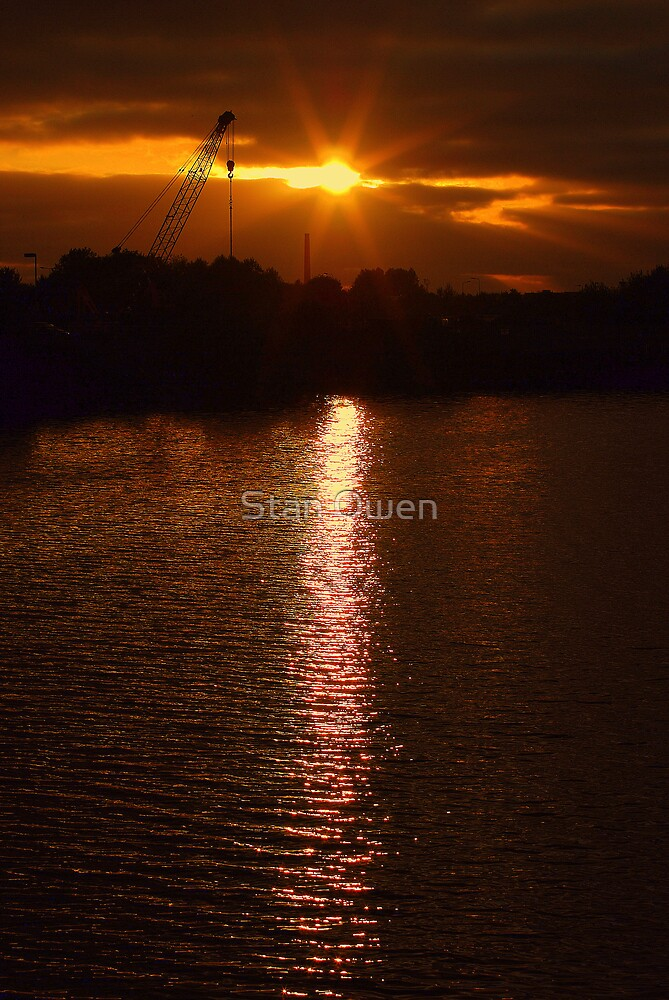 Reflected Sunset by Stan Owen
