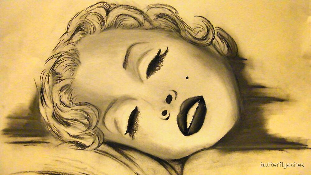 Marilyn Monroe by butterflyashes