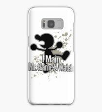 I Main Mr. Game & Watch - Super Smash Bros. Samsung Galaxy Case/Skin