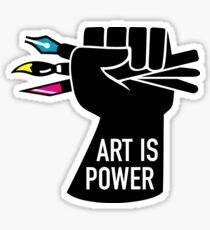 Art is Power Sticker