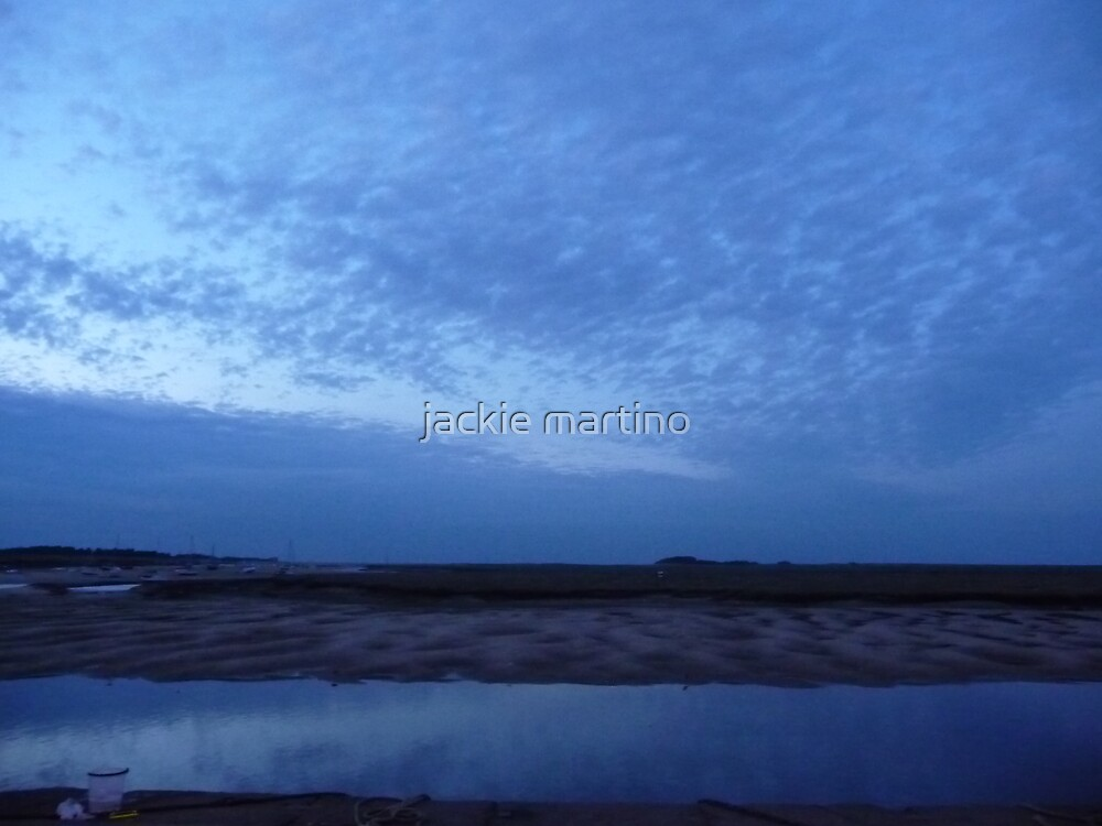 Blue wells-next-To -Sea by jackie martino