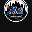 «Art Black New York Mets» de larrypangestu93