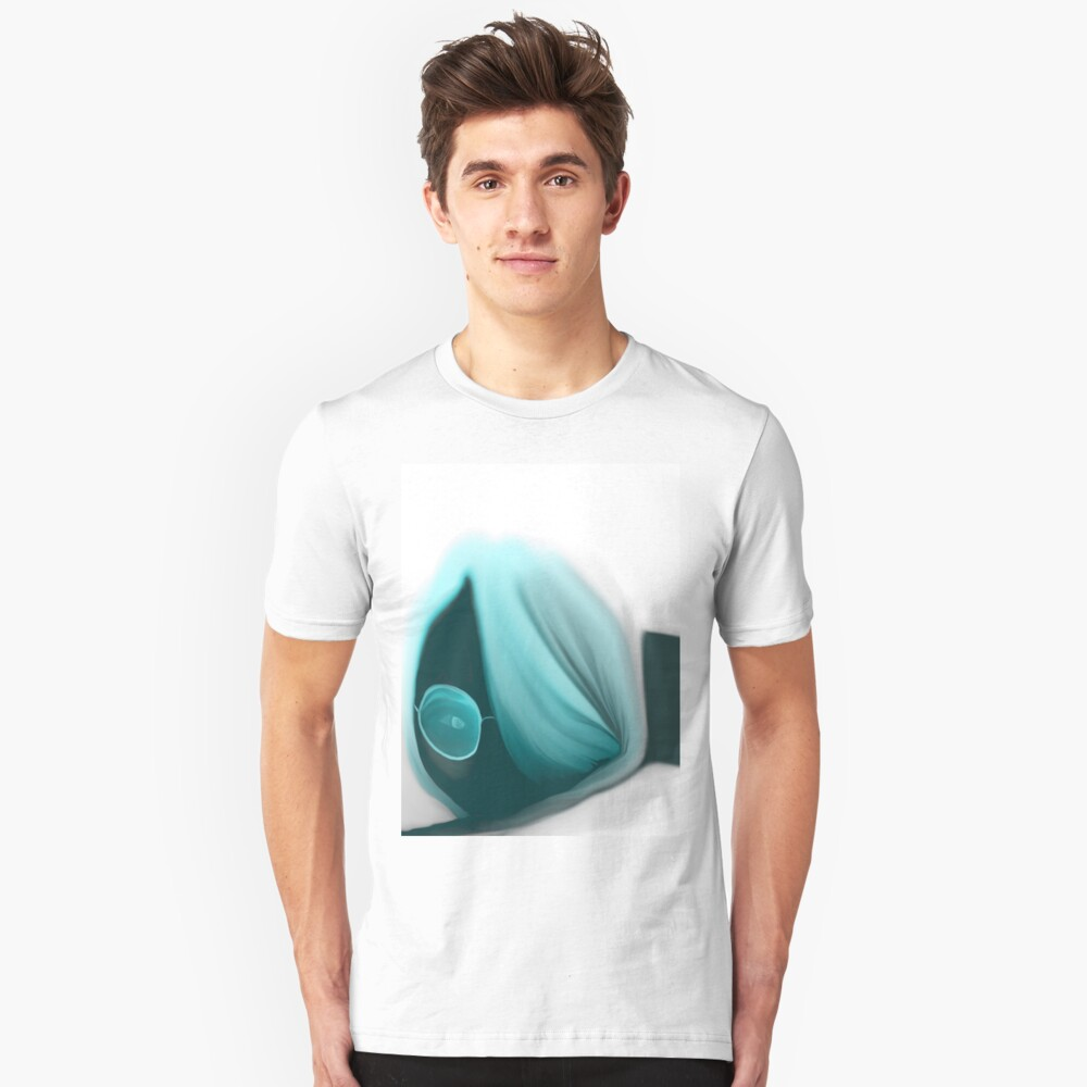 with glasses Unisex T-Shirt Front
