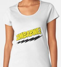 Zimbabwe! Frauen Premium T-Shirts