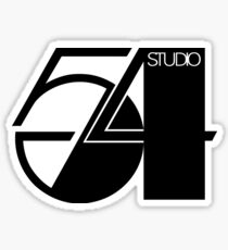 studio 54 retro Sticker