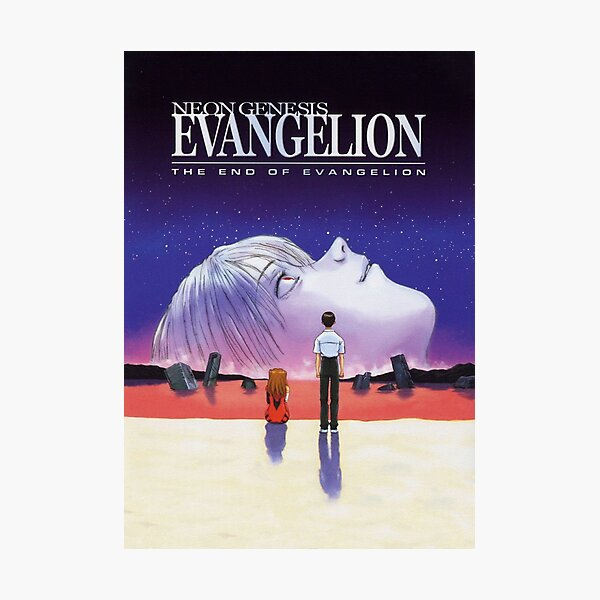The End Of Evangelion (HD - No Logos) Photographic Print