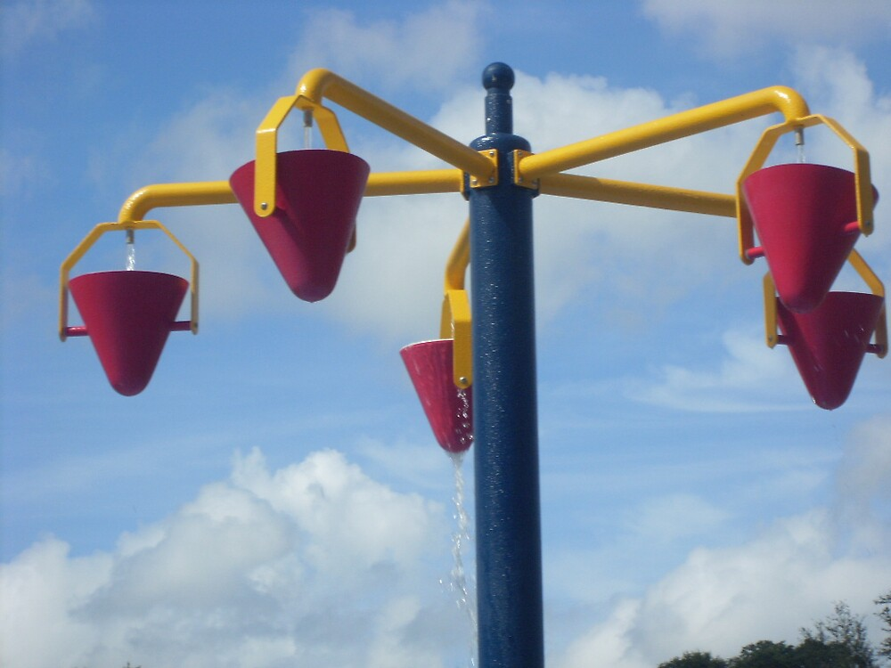 buckets in the air by elaina vanhoozer