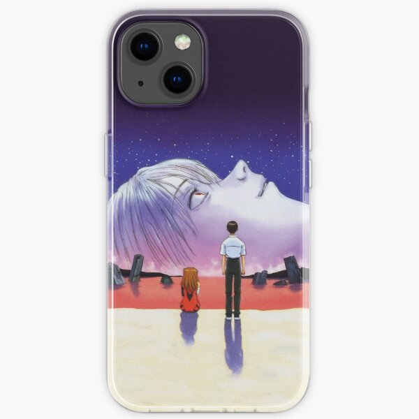 The End Of Evangelion (HD - No Text & Logos) iPhone Soft Case