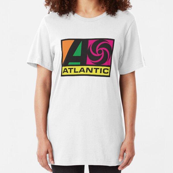 atlantic records album Slim Fit T-Shirt