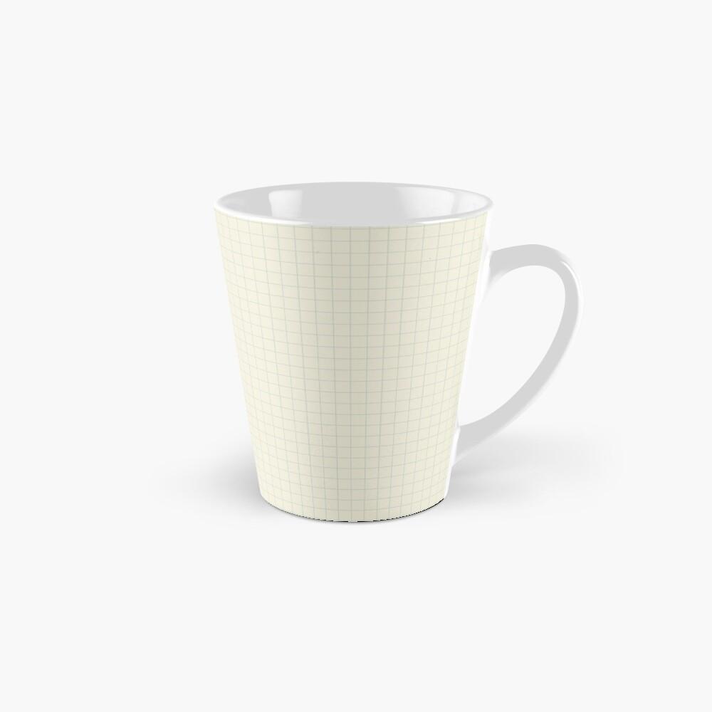 Apricot White Check Mugs