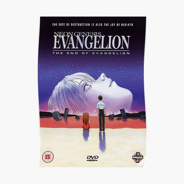 El final de Evangelion (HD) Póster