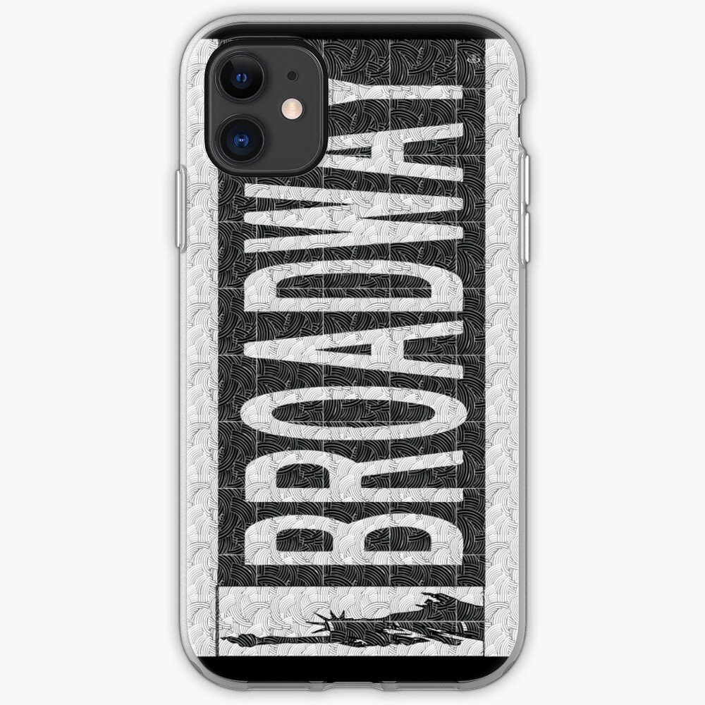 BROADWAY DECO SWING NYC Street Sign  iPhone Case & Cover