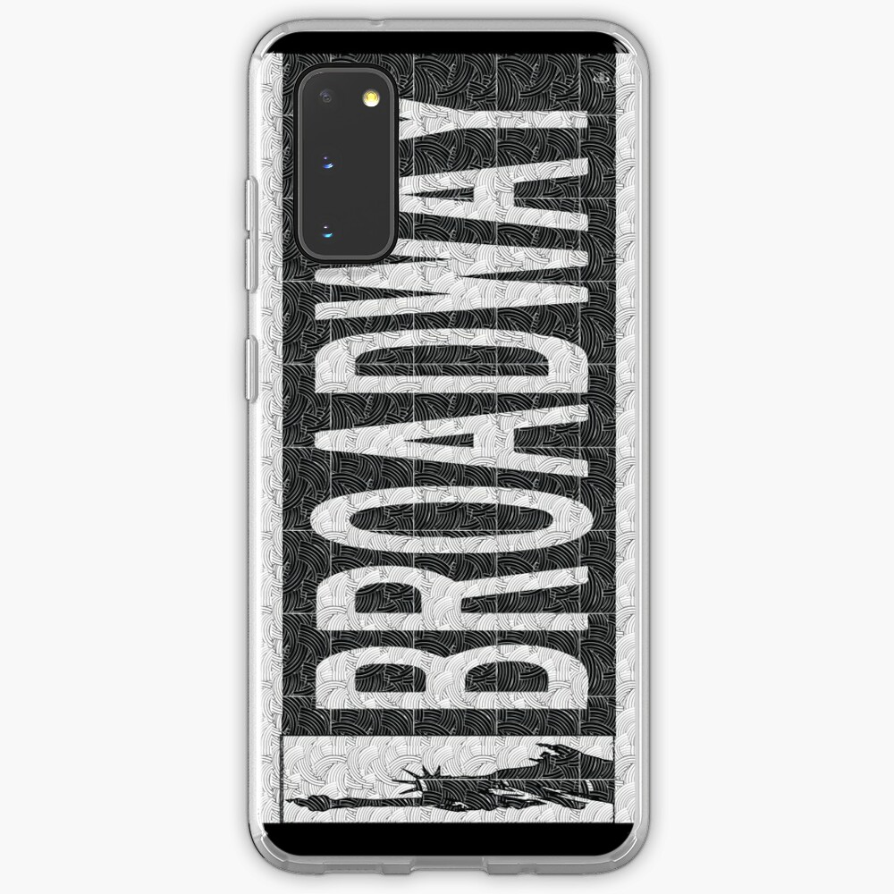 BROADWAY DECO SWING NYC Street Sign  Case & Skin for Samsung Galaxy