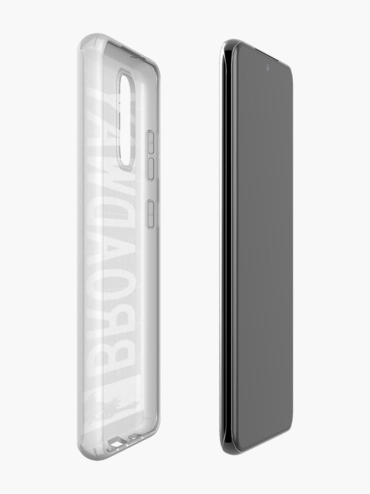 Alternate view of BROADWAY DECO SWING NYC Street Sign  Case & Skin for Samsung Galaxy