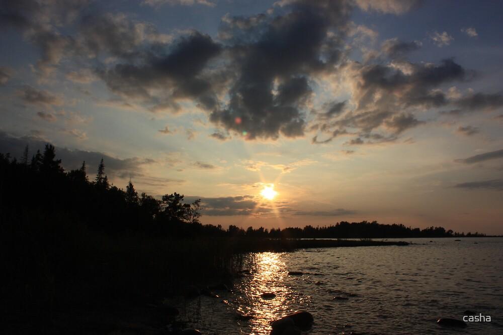 saugeen sunset by casha