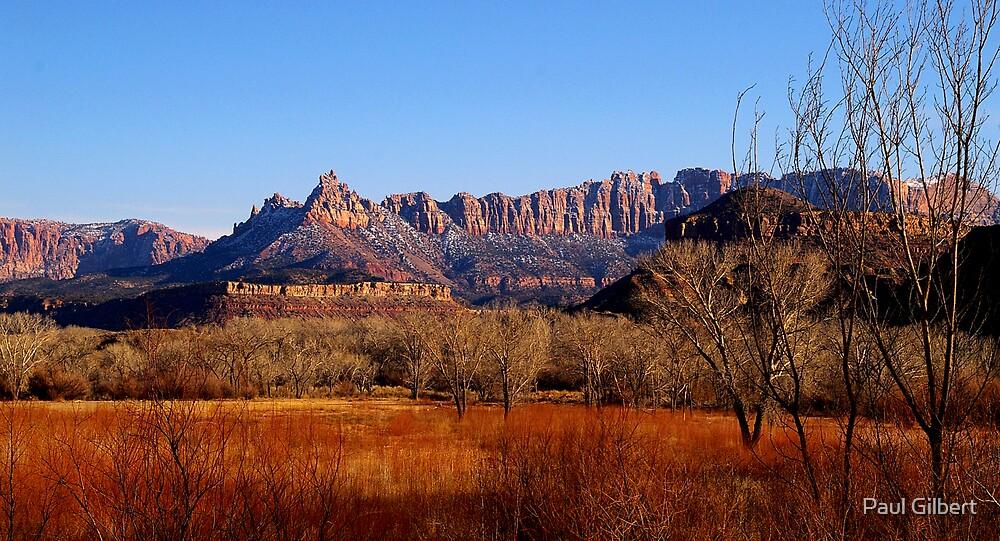 Zion National Park - Utah - USA by Paul Gilbert