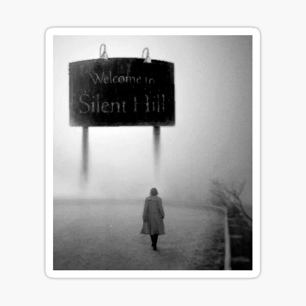 Welcome To Silent Hill Pegatina