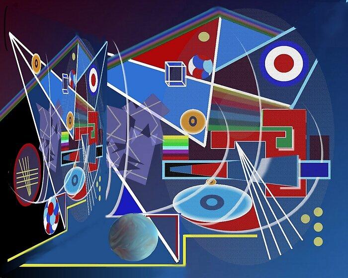TanaKatawana - Blue digital image by Mufa ...