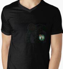 Boston Celtics T-shirt col V homme