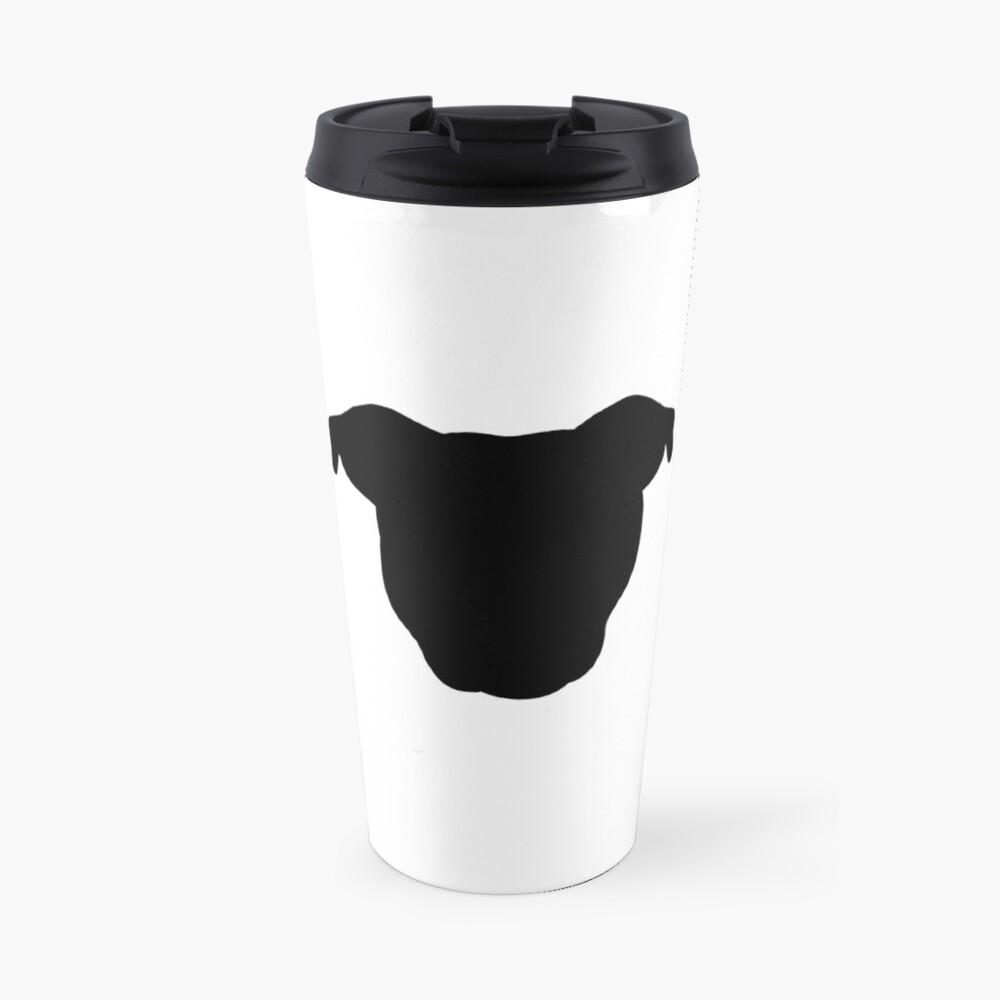 Black Pittie Travel Mug