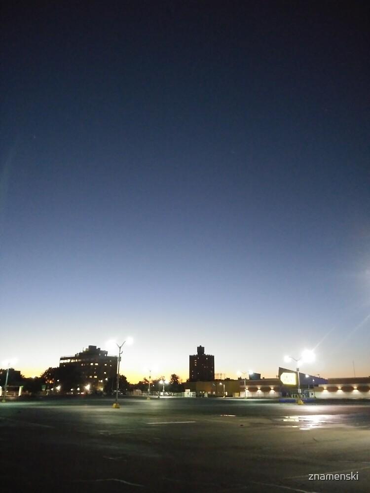 #sunset, #sky, #city, #moon, #water, #dusk, #architecture, #cityscape, #Evening, #Morning by znamenski