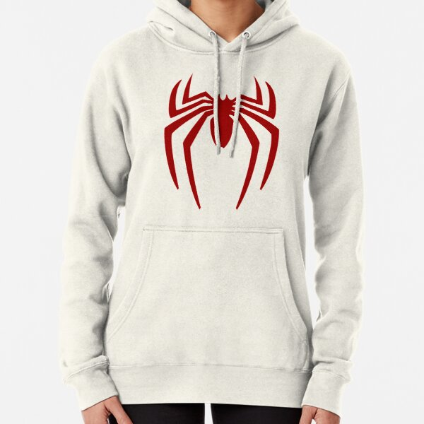 Spider Red Pullover Hoodie
