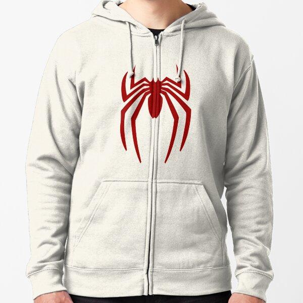 Spinnenrot Kapuzenjacke