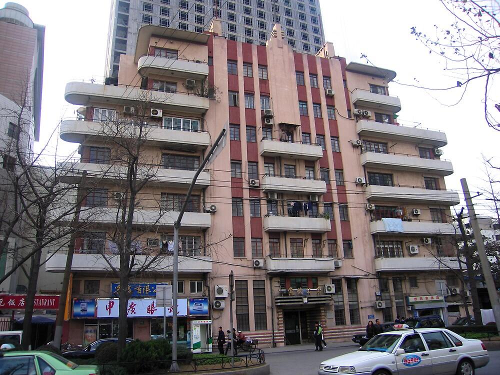 Eddington Apartments - Changde Rd - Shanghai, China  by John Meckley