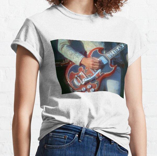 John Cipollina Picking His Guitar Classic T-Shirt