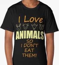 Animal Protection Giftidea Long T-Shirt