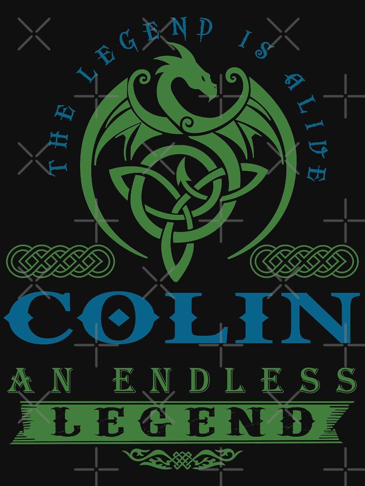 Legend T-shirt - Legend Shirt - Legend Tee - COLIN An Endless Legend by wantneedlove