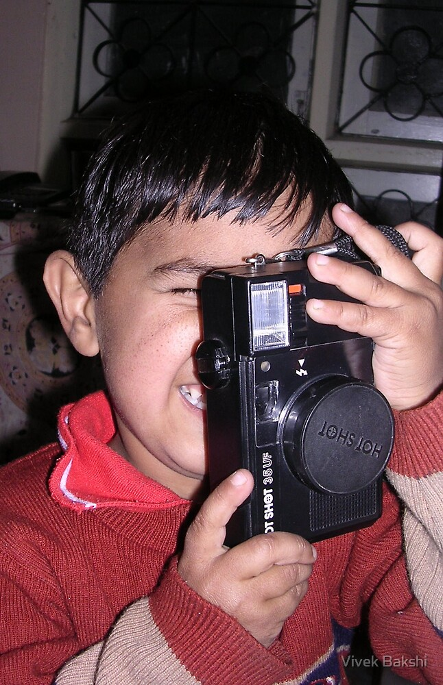 That's a Perfect Shot Mr. Photographer by Vivek Bakshi