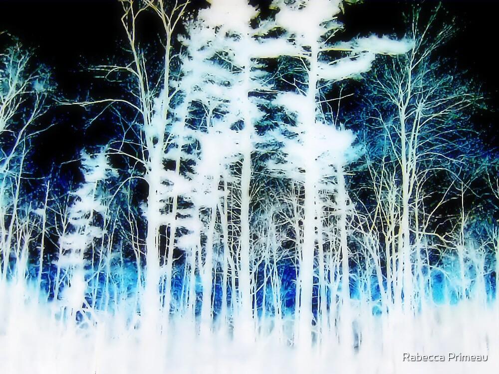 Blue Florest by Rabecca Primeau