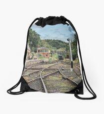 Rowley Station Drawstring Bag