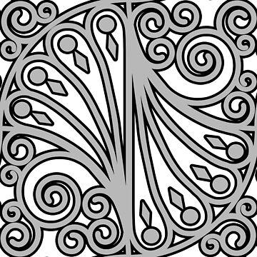 Elegant pattern #2 by ElmurFud
