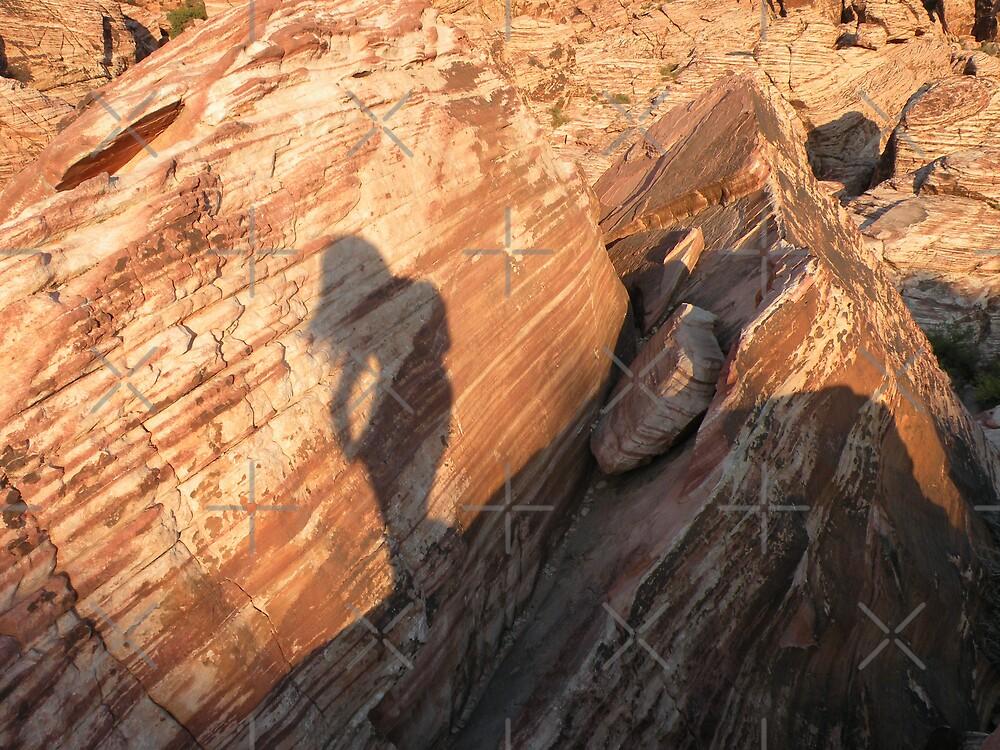 Shadow Self Portrait.. by Rita  H. Ireland