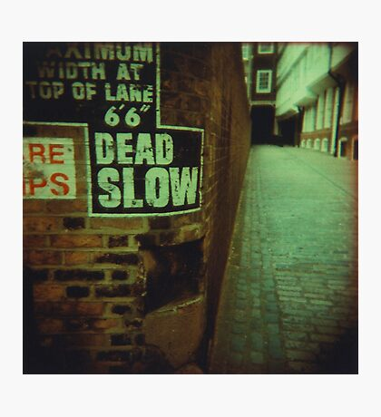 Dead End Actually Photographic Print