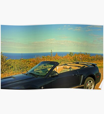 ...atop Brockway Mountain Drive... Poster