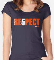 RE5PECT  Women's Fitted Scoop T-Shirt