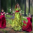 Raising the Roses - Magic in the Forest by Cat Perkinton