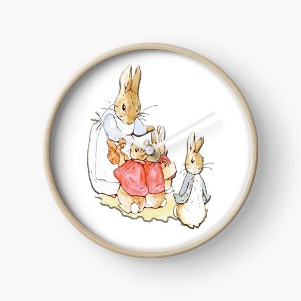 Personajes infantiles. Peter Rabbit. Beatrix Potter. Reloj
