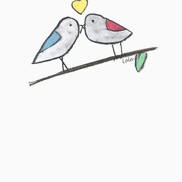 Love Birds by DaisyLuluLola