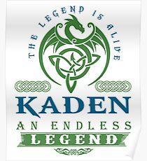 Legend T-shirt - Legend Shirt - Legend Tee - KADEN An Endless Legend Poster