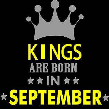 kings are born in september by MallsD