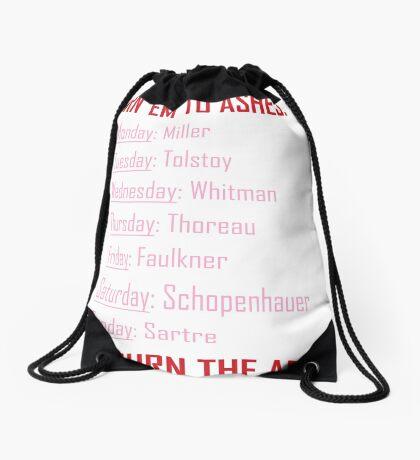 Huxburywell: Manifesto 451 Drawstring Bag