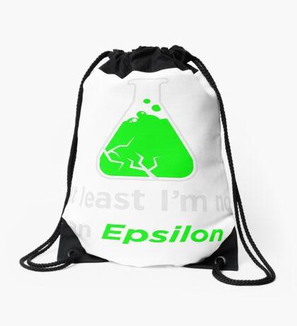 Huxburywell: At Least I'm Not An Epsilon Drawstring Bag