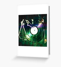 Turntables brainwash Greeting Card